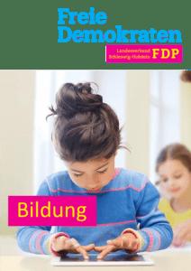 Book Cover: Bildung