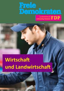Book Cover: Wirtschaft und Landwirtschaft