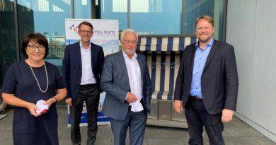 Kubicki besucht Elbehafen