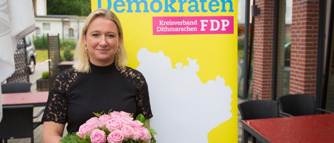 Anne-Riecke einstimmig zur Kandidatin für den Landtagswahlkreis Dithmarschen-Schleswig gewählt