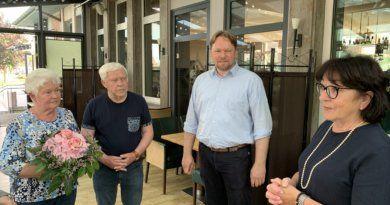 Ehrung für FDP-Urgestein Egon Ott