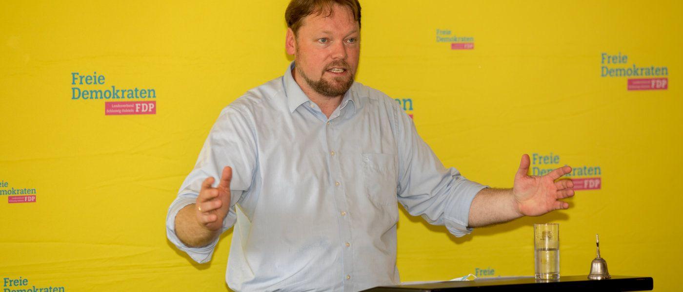 Kumbartzky einstimmig zum FDP-Landtagskandidaten für Dithmarschen-Süd gewählt